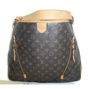 Auth Louis Vuitton Delightful GM Hobo Rare Bag